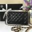 Chanel mini สีดำ งานHiend Original thumbnail 3