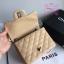 Chanel Classic Flap mini(Square) สีครีม งานHiend 1:1 thumbnail 5