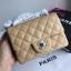 Chanel Classic Flap mini(Square) สีครีม งานHiend 1:1 thumbnail 2