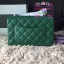 Chanel Classic Flap mini สีเขียว งานHiend Original thumbnail 5