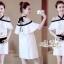 Aris Code Lovely Dress White Bow Tie thumbnail 2