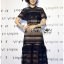🎀 Lady Ribbon's Made 🎀Lady Adele Sweet Feminine Ruffle Pale Khaki Self-Portrait Lace Maxi Dress thumbnail 5