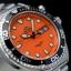 นาฬิกา Orient Automatic Orange หน้าส้ม FAA02006M9 Diver 200m thumbnail 2