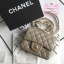 Chanel Classic Flap mini(Square) สีเทา งานHiend 1:1 thumbnail 2