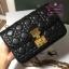 Dior addict flap bag สีดำ งานHiend Original thumbnail 3