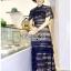 🎀 Lady Ribbon's Made 🎀Lady Adele Sweet Feminine Ruffle Pale Khaki Self-Portrait Lace Maxi Dress thumbnail 4