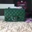 Chanel Classic Flap mini สีเขียว งานHiend Original thumbnail 1