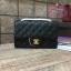 Chanel Classic Flap mini สีดำ งานHiend Original thumbnail 2