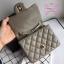 Chanel Classic Flap mini(Square) สีเทา งานHiend 1:1 thumbnail 4