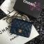 Chanel Classic Flap mini(Square) สีน้ำเงินกรม งานHiend 1:1 thumbnail 8
