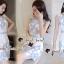 Seoul Secret Say's...Sweet Lace Bule Suquin Dress thumbnail 6