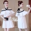 Aris Code Lovely Dress White Bow Tie thumbnail 4