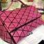 Issey Miyake BaoBao Shoulder bag สีชมพู งาน Hiend Orginal thumbnail 5