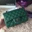 Chanel Classic Flap mini สีเขียว งานHiend Original thumbnail 2