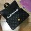 Chanel Classic Flap mini สีดำ งานHiend Original thumbnail 7
