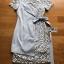 🎀 Lady Ribbon's Made 🎀Lady Sofia Graphic Two-Tone Baby Blue Dress thumbnail 9