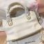 Balenciaga Edge mini City Bag สีขาวครีม งานHiend 1:1 thumbnail 6