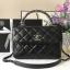 Chanel Trendy CC bag สีดำ งานHiend Original thumbnail 1