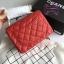 Chanel Classic Flap mini(Square) สีแดง งานHiend 1:1 thumbnail 4