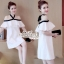Aris Code Lovely Dress White Bow Tie thumbnail 5