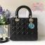Dior lady สีดำ งานHiend 1:1 thumbnail 1