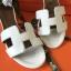 รองเท้าHermes สีขาว งานHiend 1:1 thumbnail 2