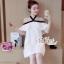 Aris Code Lovely Dress White Bow Tie thumbnail 8