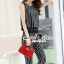Seoul Secret Say's .... Harmony Stripy Lace Jump Waist Chic Set สีดำ thumbnail 5