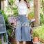 Seoul Secret Say's... Chic Line Belt Collar Gean Set thumbnail 1