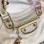 Balenciaga Edge mini City Bag สีขาวครีม งานHiend 1:1 thumbnail 5