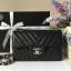 Chanel Classic Flap mini chevron สีดำ งานHiend Original thumbnail 1