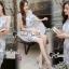 Seoul Secret Say's...Sweet Lace Bule Suquin Dress thumbnail 5