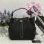 Chanel Chevron Chain Buckle Drawstring Bag สีดำ งานHiend Original thumbnail 1