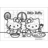 ภาพระบายสี จิ๊กซอว์แบบแผ่น มีถาดรอง 54 ชิ้น พร้อมถาดรอง Sanrio ซานริโอ้ Hello Kitty ฮัลโหล คิตตี้
