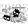 ภาพระบายสี จิ๊กซอว์แบบแผ่น มีถาดรอง 54 ชิ้น พร้อมถาดรอง Sanrio ซานริโอ้ Bad Badtz Maru แบ๊ด แบ๊ดซ์ มารุ