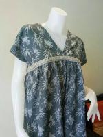 ชุดแซกสไตล์ญี่ปุ่น ผ้าคอตตอน Size:M
