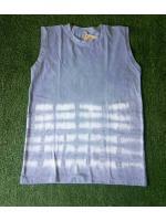 เสื้อกล้ามคอกลม มัดย้อมสีดินธรรมชาติ Size:L