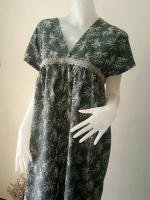 ชุดแซกสไตล์ญี่ปุ่น ผ้าคอตตอน Size:XL