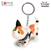 Semk - Kat Key Ring (Pattern Cat)