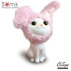 Semk - Kat Saving Bank (Sitting Cats/Rabbit Clothing)