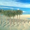ต้นมะพร้าว (สเกล 1:150) แพ็ค 10 ต้น สูง 7 ซ.ม.