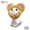 Semk - Kat Saving Bank (Sitting Cats/Bear Clothing)