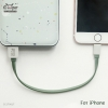 MAOXIN Data Cable 22cm (For iPhone)