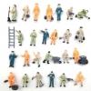 คนงานก่อสร้าง สเกล 1:87 คละแบบ 50 ชิ้น