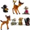 กวางน้อย Bambi และเพื่อน ชุด 7 ตัว