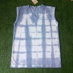 เสื้อกล้ามคอวี มัดย้อมสีดินธรรมชาติ Size:L