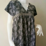 ชุดแซกสไตล์ญี่ปุ่น ผ้าคอตตอน Size:L