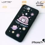 LOFTER Cat-Space - Black (iPhone7+)