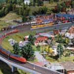 Train/Railway theme (scale 1:87)