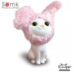 Semk - Kat Saving Bank (Sitting Cats/Rabbit Clothing)